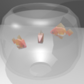 Fishes In A Fish Bowl