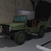 Second War Jeep