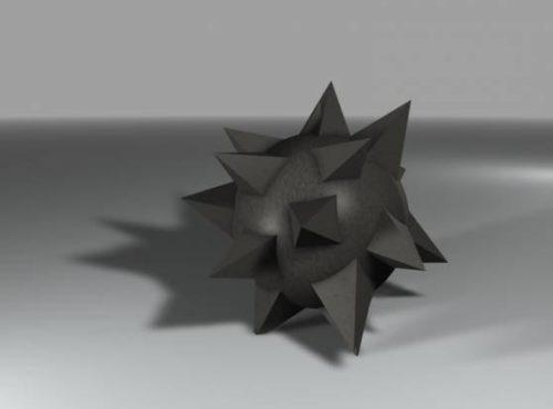 Spike Ball Weapon