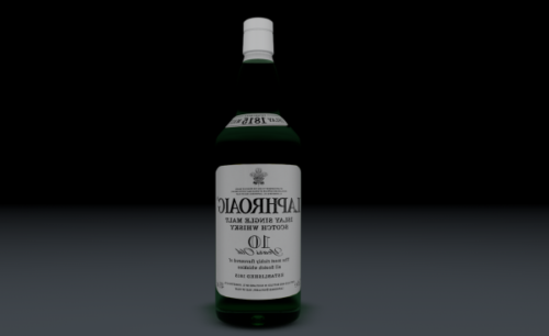 Laphroaig Bottle