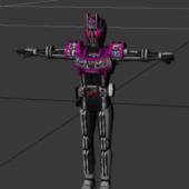 Kamen Rider Decade Complete Form