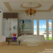 Beach View Bed Room