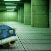 Mario Blue Shell