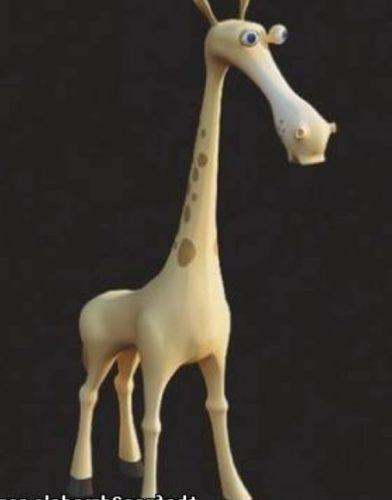 Animal Giraffe Toy