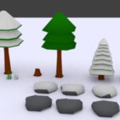 Cartoon Forest Assets