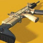 Scar Mark16 Gun