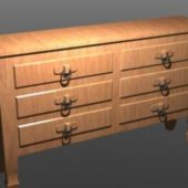 Antique Wooden Drawer