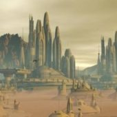 Martian Colonial City