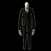Slenderman Full Rigged