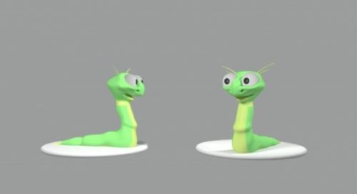 Worm Lowpoly