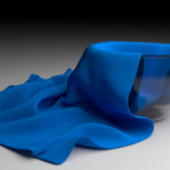 Glass Bowl And Cloth