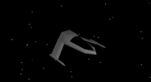 Low Poly Spaceship