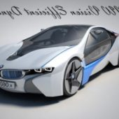 Bmw I8 Racing Car
