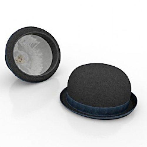 Man Round Hat