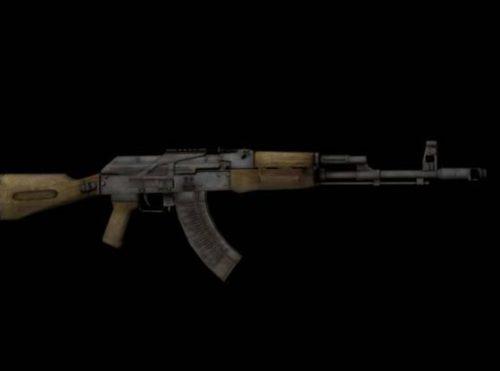 Ak47 Soviet Gun