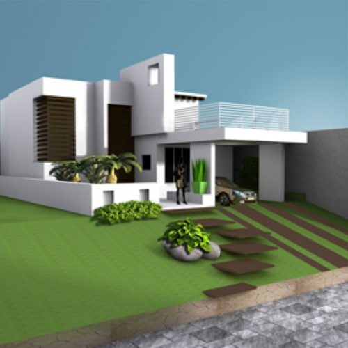 House Villa Residence Building