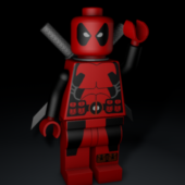 Deadpool Lego