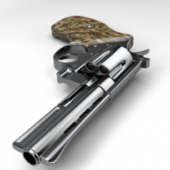 High Poly Revolver