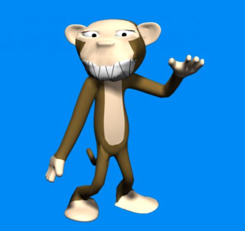 Monkey Monster Cartoon