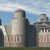 Eastern Ancient Casttle