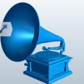 Victor Phonograph Sound Speaker