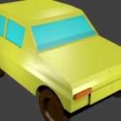 Gaming Low Poly Car