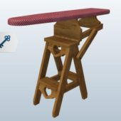 Furniture Bachelors Chair Ironing Board