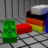 Toy Lego Bricks