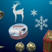 Christmas Decorations Set