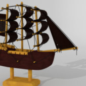 Sailing Boat Toy