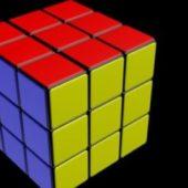 Rubik Cube Simple Style