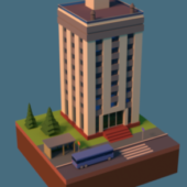 Gaming Lowpoly Building