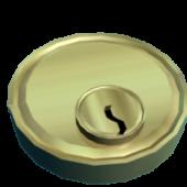 Golden Door Lock