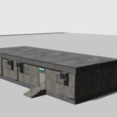 Concrete Headquater Building