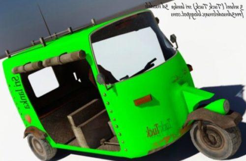 3 Wheel Tuck Car