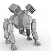 4 Leg Mecha Robot