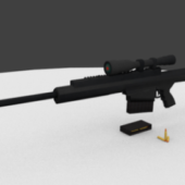 50 Cal Sniper Gun