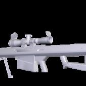 50 Cal Barrett Gun