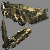 Scud-b Vehicle