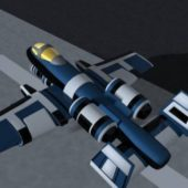 A10 Warthog Aircraft