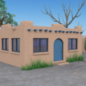 Country Adobe House