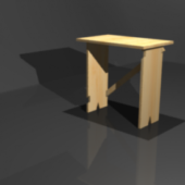 African Stool Wooden