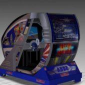 After Burner Sitdown Arcade Machine