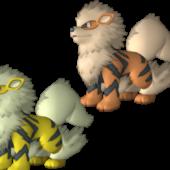 Arcanine Pokemon Character