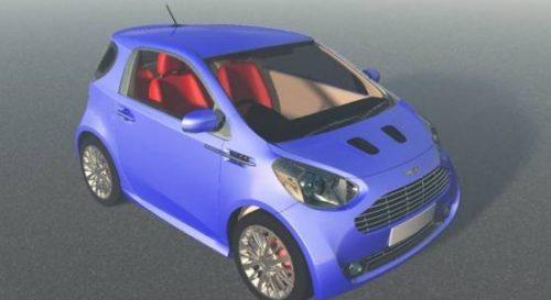 Aston Martin Cygnet Car