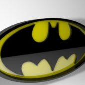 Oval Batman Logo
