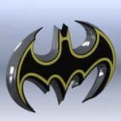Logo Batman Badge