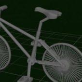 Vintage Old Bicycle