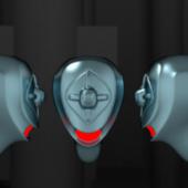 Big Trap Robot Head