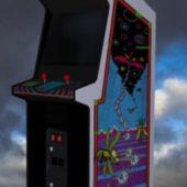 Black Widow Upright Arcade Machine